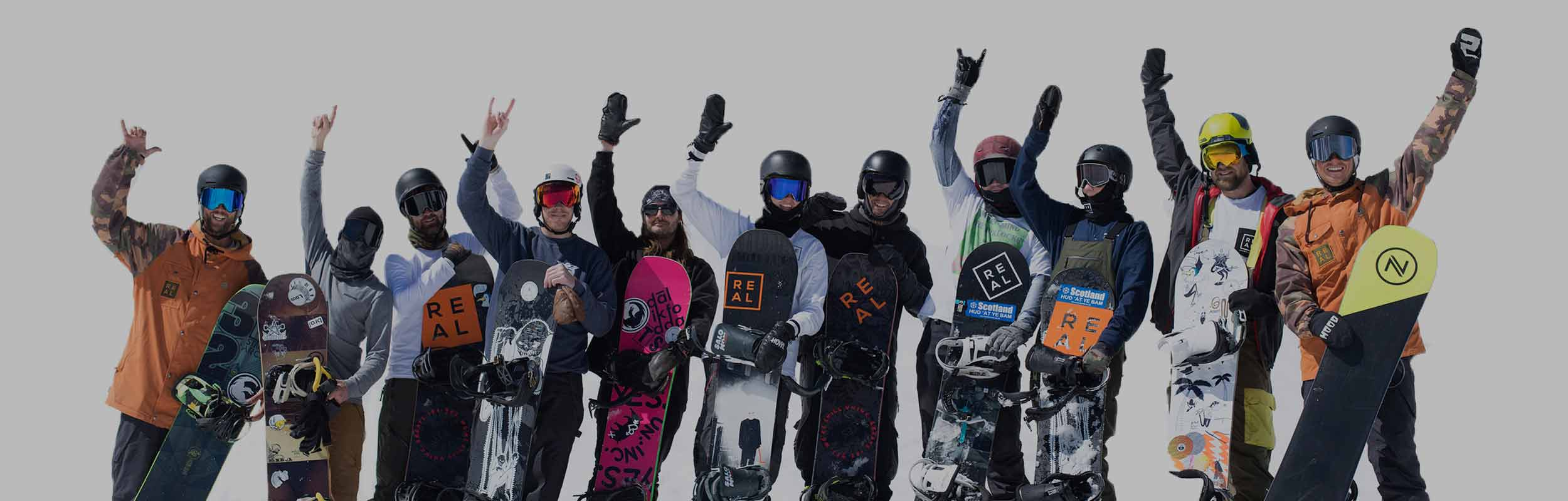 Winter snowboard camp for adults in morzine