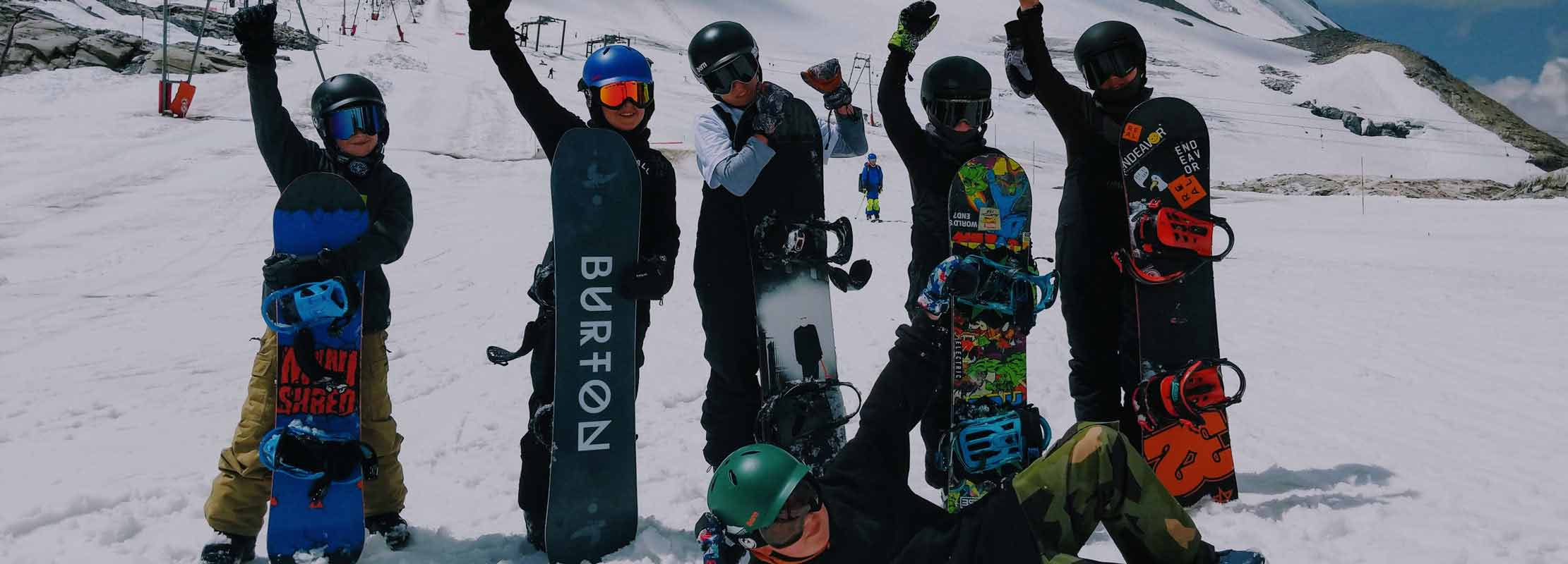 kids winter snowboard camp morzine avoriaz