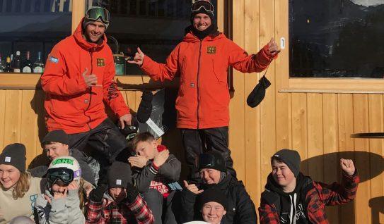 kids snowboarding lessons